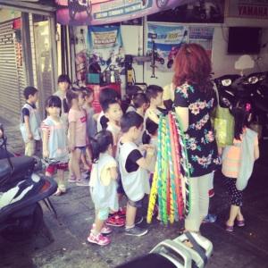 Taiwanská školička