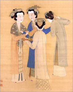 Dámy Ming Dynastie
