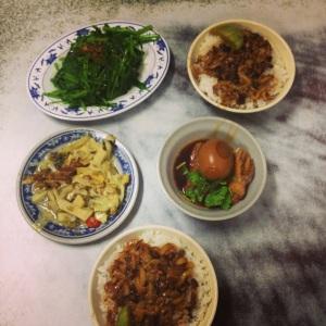 Braised Pork Rice a další dobroty