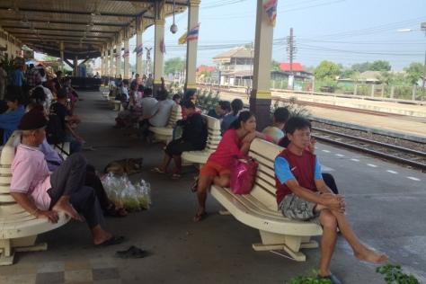 Ayuathaya - nádraží