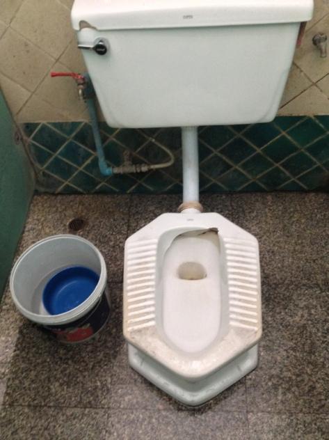 Chiang Mai - Nádraží - Záchodky za 3 Bhaty 2 koruny