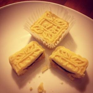 Eva mi na první setkání donesla místní specialitu - koláčky s náplní z červených fazolí - hned jsem věděla, že tu holku budu mít ráda