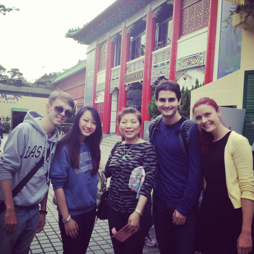 S naší drahou Laoshi