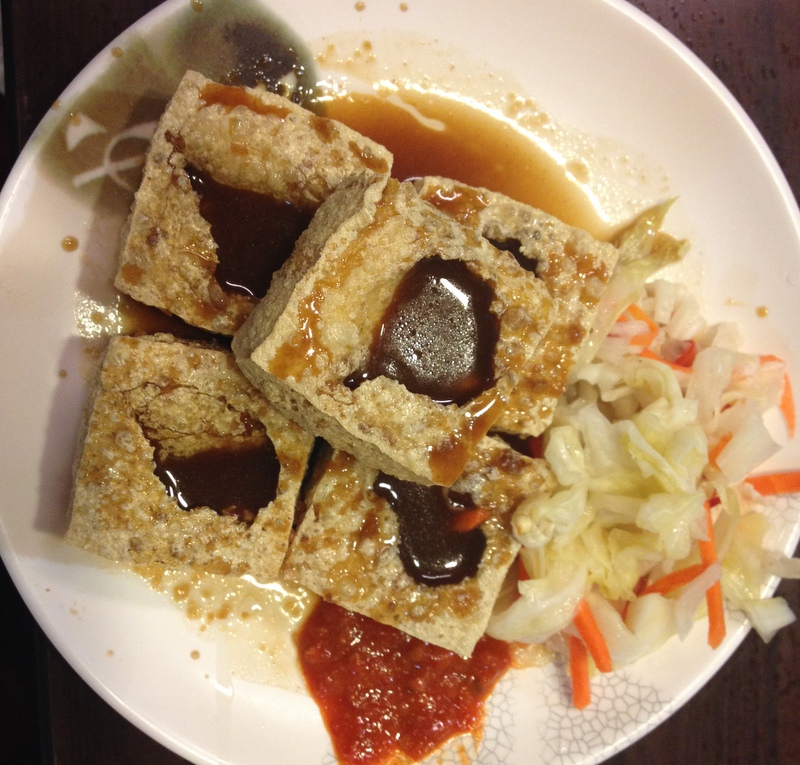 Smradlavé tofu