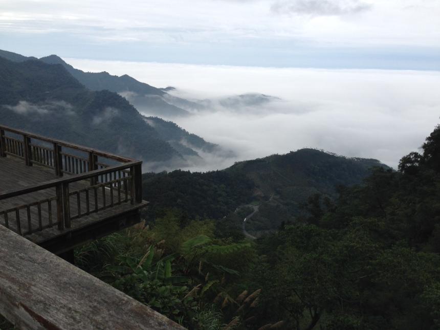Moře mraků v Xiding