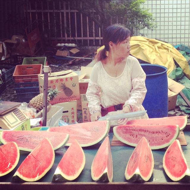Trh s ovocem