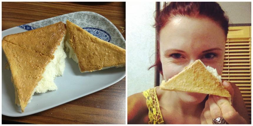 Toast s arašídovou příchutí