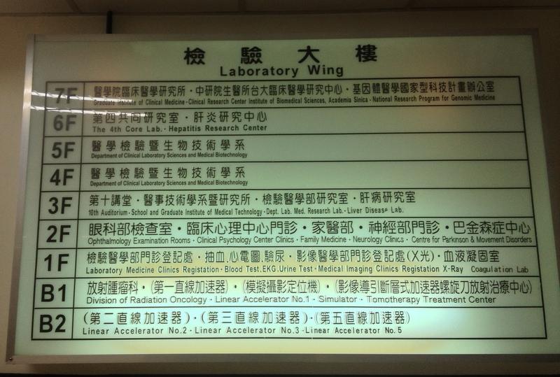 Všechno hezky organizované, klasický Tchaj-wan.