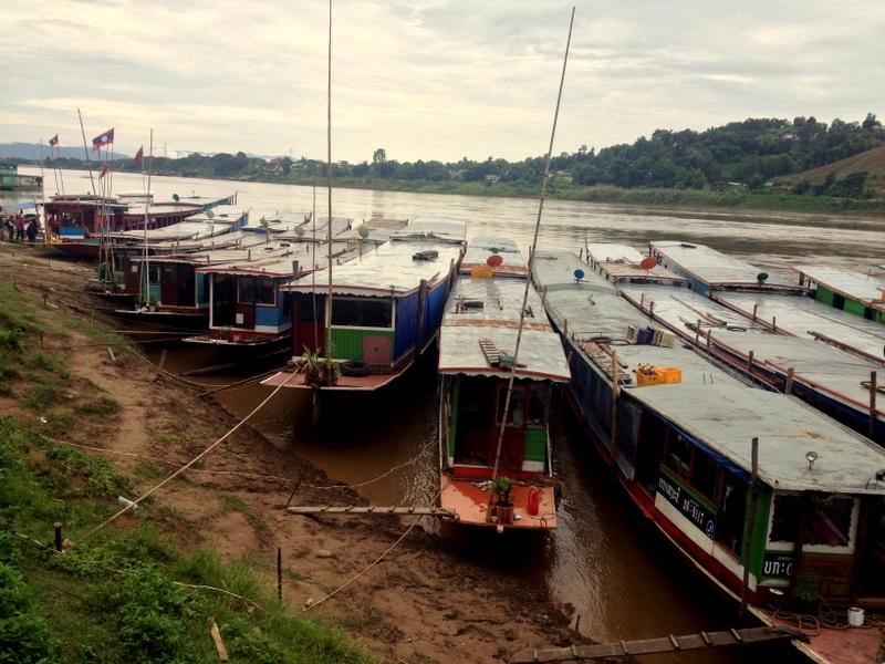 Městečko Huay Xai