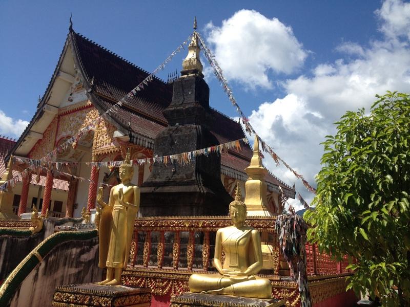 Bez Buddhy a chrámu to nende.