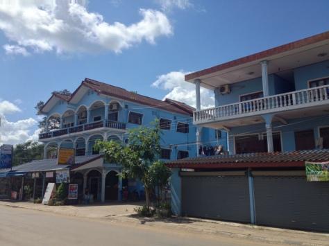 Dům laoský. Vang Vieng, Laos