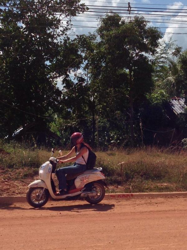 Hana, ďábel laoských silnic.