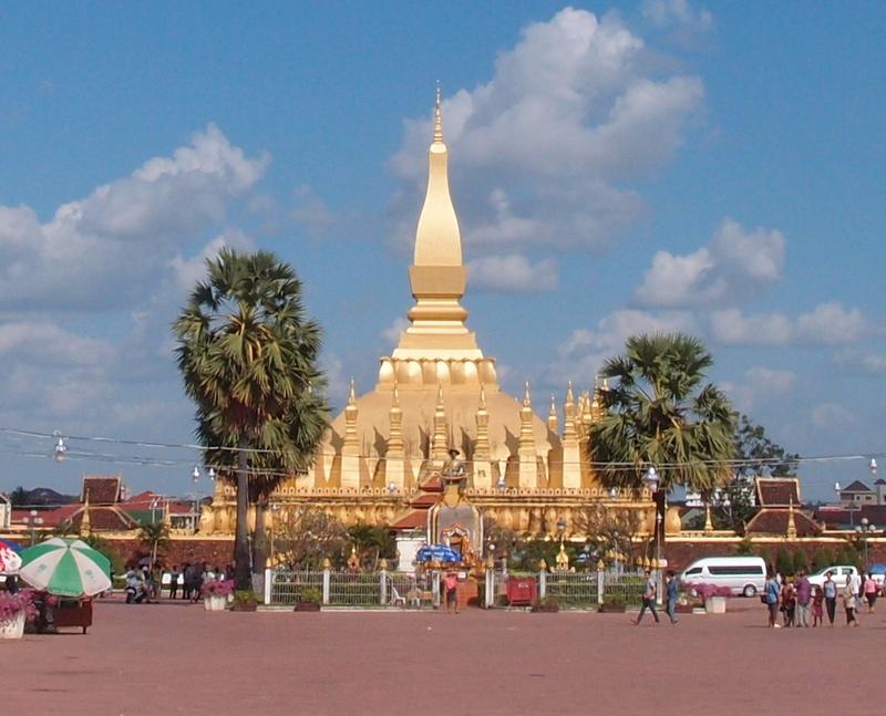 Pha That Luang - nejvýznamější chrám Laosu